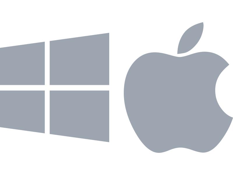 WindowsもMacも