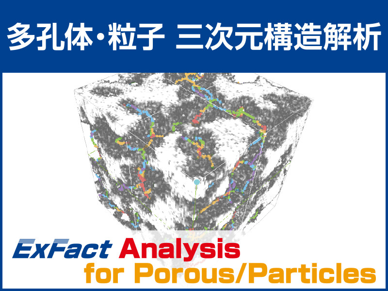 ExFact Analysis for Porous/Particles