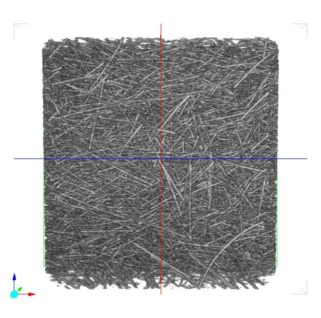 繊維 クリップ/横回転