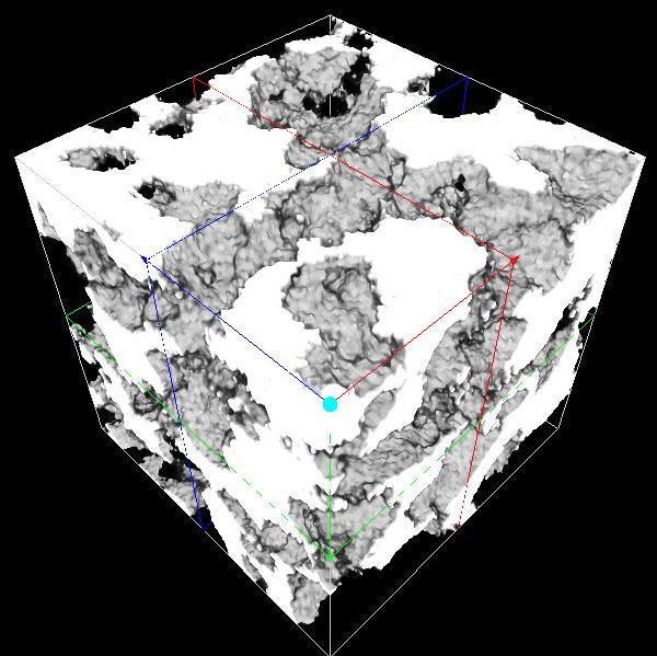 多孔体/多孔質材料(空隙/サイズ/孔径/面積/体積/密度/分布)
