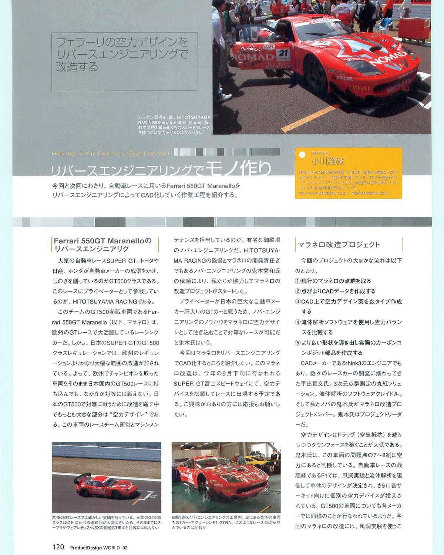 フェラーリの空力デザインをリバースエンジニアリングで改造する